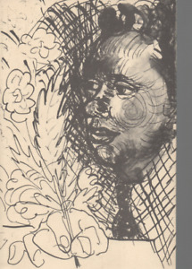 CERI RICHARDS DRAWINGS TO POEMS BY DYLAN THOMAS FIRST EDITION PAPERBACK 1980