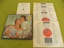 Strauss Der Rosenkavalier / Karajan / Columbia SAX 2269-2272 STEREO 4xLP BOX NM