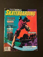 Transworld Skateboarding FEB 1986 vintage magazine