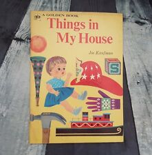 1963 THINGS IN MY HOUSE LITTLE GOLDEN BOOK