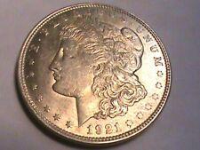 1921  AU MORGAN SILVER DOLLAR 90% SILVER $1 COIN US