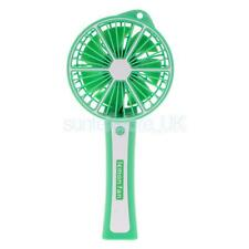 Green Mini USB Fan Handheld Rechargeable Mini Cooler Cooling Super Mute