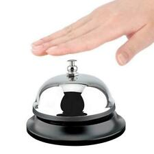 Restaurant Service Bell Hotel Desk Bell Ring Reception Ringer Call Silver B E6C8