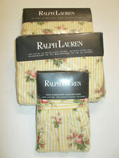 SET New RALPH LAUREN Sophie Floral Queen Flat & Fitted Sheet Pillowcases Brooke