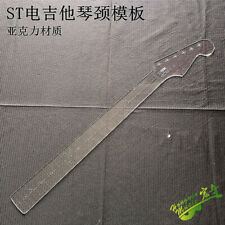 Electric Guitar neck Transparent Acrylic Template Making Molds ST style