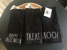 Rae Dunn Halloween Kitchen Towels Washcloths You Pick New Ll Rare Two Pack
