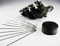10M HEAT WRAP CERAMIC FIBER WITH 10 CABLE TIES 30CM EXHAUST MANIFOLD DOWNPIPE
