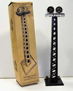 Marx Train 416 Floodlight Tower with Box