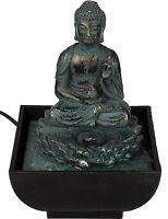 Zimmerbrunnen Buddha Springbrunnen Wasserspiel Tischbrunnen Asia Feng Shui Deko