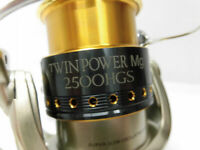 Shimano 2006 TWIN POWER Mg2500HGS Spinning Reel Rank B Japan