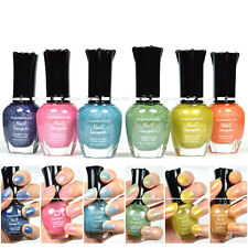 6 FULL KLEANCOLOR HOLO COLLECTION COLORS NAIL POLISH LACQUER MANICURE 6HOLO
