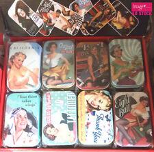 24pcs Audrey Hepburn Collectables Tin Boxes Fashion Jewelry Gift Rectangular