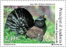 Andorra 2007, natural heritage: grouse (**) unc
