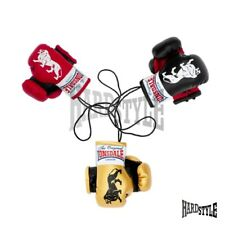 Lonsdale London Mini Boxhandschuhe Schwarz, Rot, Gold