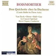 Boismortier (Van Dyck/Biren... - Don Quichotte chez la Duchesse CD NEU OVP