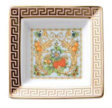 VERSACE ASH  TRAY PLATE  GOLD GREEK LE JARDIN Rosenthal NEW RETAIL.$140 SALE