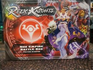 RELIC Knights Strategy Game - Noh Empire Battle Box CMON BNIB