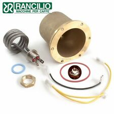 Rancilio Silvia BOILER assembly with removable ELEMENT  -Genuine -coffee machine