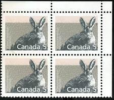 Canada sc#1158 Mammal : Varying Hare, Ur Blank Corner, Mint-Nh