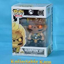 Funko Mortal Kombat - Scorpion (Flaming Skull) Pop Vinyl Figure