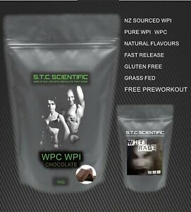 1kg WPC/WPI Chocolate and White Rage Crazy Preworkout! Manufacturer direct!