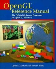Opengl Reference Manual: The Official Reference Document for Opengl, Release 1 (