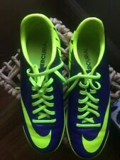 NIKE MERCURIAL VICTORY IV IC INDOOR SOCCER SHOES FOOTBALL Electro Purple/Volt