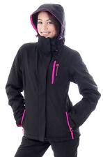 New Women's Waterproof Windproof Ski Jacket Outdoor Insulated Hooded Snow Jacket