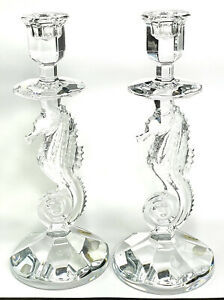 Waterford 158572 11.5 inch Seahorse Candlesticks 2 Count