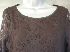 m&s black lace shift dress size 10 *BNWT*