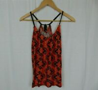 ECOTE Urban Outfitters Women's Printed Tank Top Shirt Cotton Blend Size Small