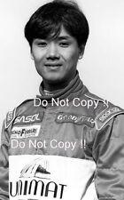 TAKI Shinya Footwork F1 Ritratto Fotografia 1995
