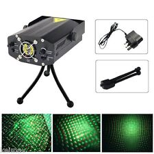 Mini Projector Holographic Laser Star Green and Red Laser (Black)