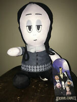 "NWT The Addams Family Wednesday Movie Plush Doll Toy Factory 2019 Stuff 7"" Goth"