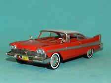 Christine 1958 Plymouth Fury Diecast Car Hollywood Greenlight 1 24
