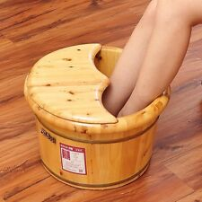 Foot basin wooden bucket foot bath&massage plus cover and massage 足浴桶加厚泡脚加盖和按摩器