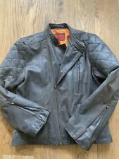 Mens Leather Jacket - Size Medium