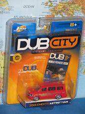 JADA DUB CITY 2001 CHEVY ASTRO VAN DIECAST METAL ***BRAND NEW & RARE***