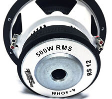 Resilient Sounds RS12inch Dual 4 Ohm 500RMS/1000Watt Peak