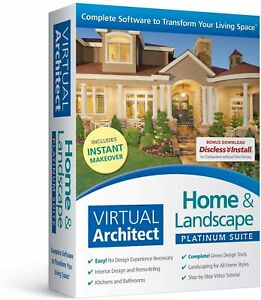 Virtual Architect Home & Landscape Platinum Suite  FREE SHIPPING!