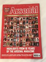 **ARSENAL FC OFFICIAL MAGAZINE - FINAL EDITION - EXCELLENT CONDITION**