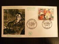 FRANCE PREMIER JOUR FDC YVERT 1322    ROGER DE LA FRESNAYE    1F    PARIS   1961