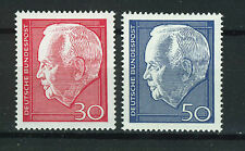 ALEMANIA/RFA WEST GERMANY 1967 MNH SC.974/975 Heinrich Lübke re-election