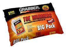 Grabber Warmers Big Pack 6 + Hours Adhesive Toe Warmers, 16 Grabber 8 Pairs