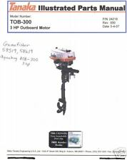 Tanaka tob 300  OWNERS parts manual 3hp 3.0 3HP