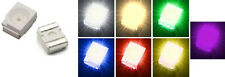 10x Power SMD LED 3528 PLCC-2 Weiß Warmweiß Grün Blau Rot Gelb Ultraviolet UV
