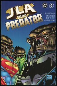 JLA versus Predator Trade Paperback TPB Justice League America vs Alien Hunter