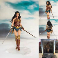 "Figurine 7.5"" DC justice league PVC Wonder Woman Statue action Figure"