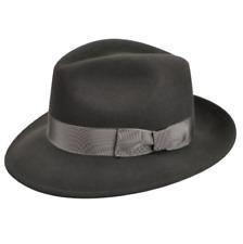 Sebacap Herringbone Fedora Hat