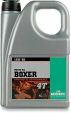 Motorex Boxer 4T Full Synthetic 4-Stroke Motor Oil   15W-50 4 Liter 102295